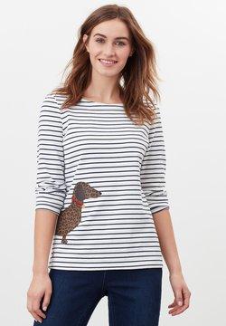 Tom Joule - HARBOUR  - T-shirt à manches longues - cremefarben hund leopard streifen
