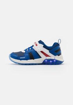 Geox - SPAZIALE BOY - Sneaker low - royal/red