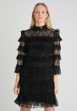 By Malina - CARMINE DRESS - Sukienka koktajlowa - black