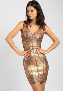 Apart - Cocktailkleid/festliches Kleid - bronze