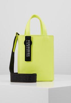 Liebeskind Berlin - PAPERBXS - Handtasche - neon yellow