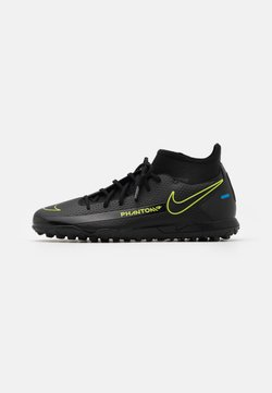 Nike Performance - PHANTOM GT CLUB DF TF  - Astro turf trainers - black/cyber/light photo blue