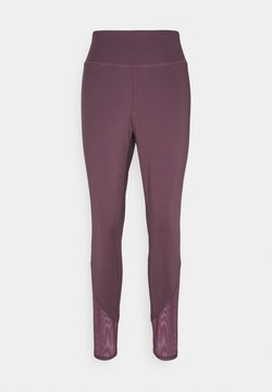 South Beach - INSERT PANEL LEGGING CURVE - Tights - fig