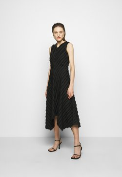 Proenza Schouler White Label - FRINGE FIL COUPE DRESS - Cocktail dress / Party dress - black