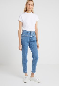 CLOSED - PEDAL PUSHER - Jeans baggy - mid blue