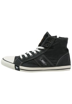Mustang - Sneaker high - schwarz