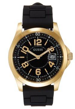 Guess - UNISEX SPORT DATE - Montre - black/gold-coloured