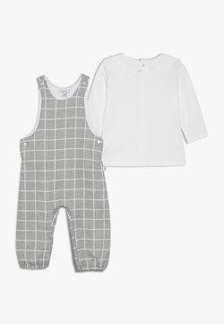 Absorba - BABY OUTFIT CÂLIN HIVER SET - Salopette - grey chine