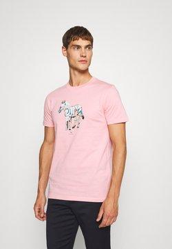 PS Paul Smith - SLIM FIT ZEBRA UNISEX - T-Shirt print - pink