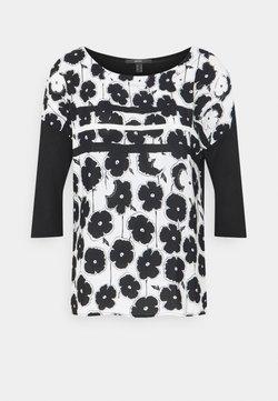 Esprit Collection - FABRIC MIX  - Bluse - black