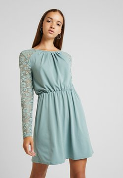 ONLY - ONLHANOVER O NECK DRESS - Jerseyklänning - chinois green