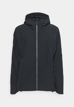 Salomon - COMET WATERPROOF JACKET  - Hardshelljacke - black