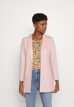 ONLY - ONLBAKER LINEA COATIGAN - Blazer - rose smoke