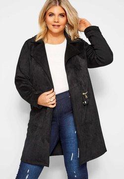 Yours Clothing - Kurzmantel - black
