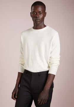 pure cashmere - MENS CREW NECK SWEATER - Pullover - ivory