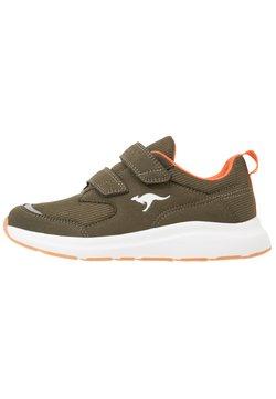 KangaROOS - KB-CASH - Sneakers laag - olive/flame