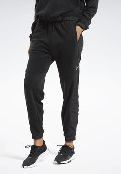 Reebok - MYT WARM-UP JOGGERS - Pantalones deportivos - black