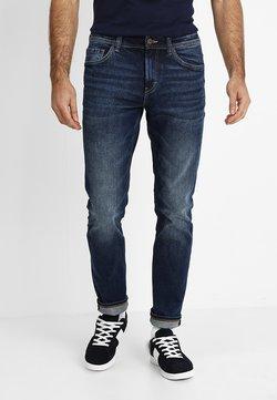 TOM TAILOR - JOSH - Jeans Slim Fit - mid stone wash denim