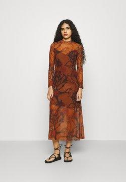 AllSaints - HANNA NOLINA DRESS - Freizeitkleid - cinnamon brown