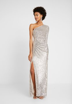 Adrianna Papell - SEQUIN DRAPED GOWN - Ballkleid - silver