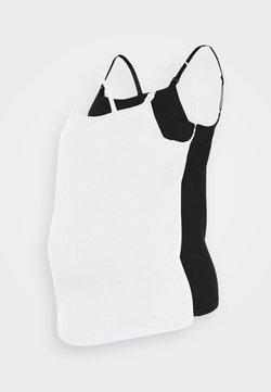 Anna Field MAMA - 2PACK NURSING FUNCTION cami - Topper - black/white