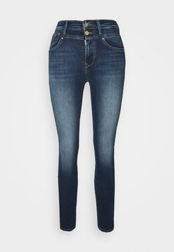 ONLY - ONLCHRISSY  - Jeans Skinny - medium-blue denim