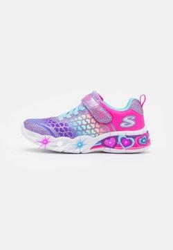 Skechers - SWEETHEART LIGHTS - Sneakers - purple/multicolor