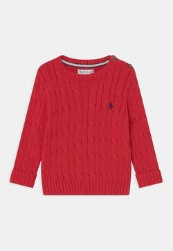 Polo Ralph Lauren - CABLE - Jersey de punto - red