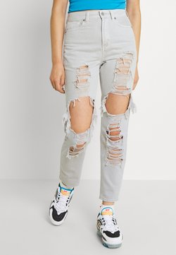 American Eagle - MOM - Slim fit jeans - gray