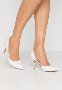 Anna Field Wide Fit - LEATHER PUMPS  - Classic heels - white