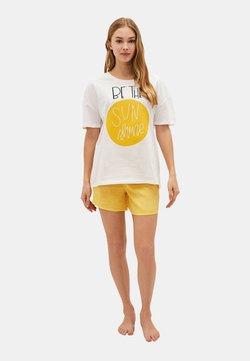 LC Waikiki - SET - Nachtwäsche Set - yellow