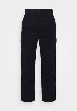 Carhartt WIP - KEYTO PANT FORD - Cargo trousers - dark navy rinsed
