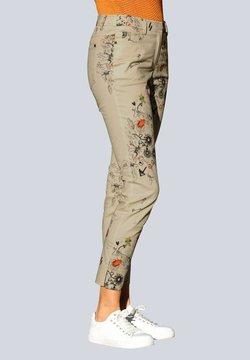 Alba Moda - Stoffhose - beige,pfirsich,schwarz