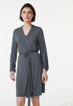 OYSHO - Bademantel - dark grey