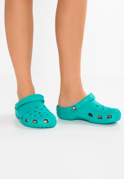Crocs - CLASSIC - Chaussons - tropical teal
