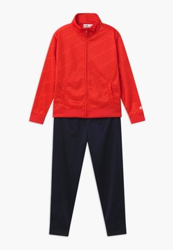 Champion - LEGACY BACK TO SCHOOL FULL ZIP SET - Dres - red