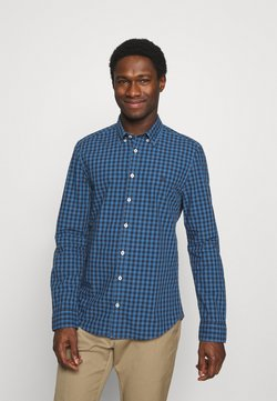 Marc O'Polo - BUTTON DOWN LONG SLEEVE INSERTED - Hemd - multi/kashimir blue