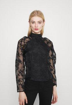 Gina Tricot - YLVA BLOUSE - Langarmshirt - black