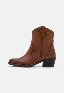 Carmela - LADIES BOOTS  - Cowboy-/Bikerstiefelette - camel