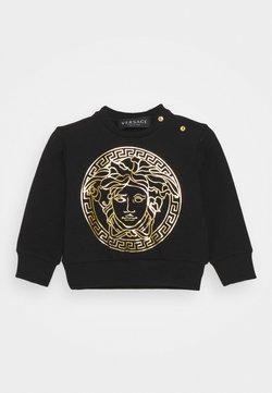 Versace - MEDUSA PRINT WITH GREEK UNISEX - Sweater - black/gold