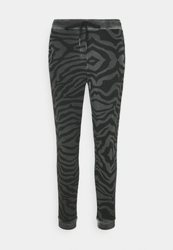 True Religion - PANT ZEBRA - Jogginghose - black