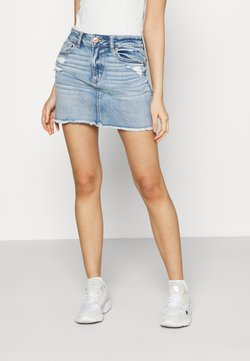American Eagle - MINI SKIRT - Minirock - medium destroy