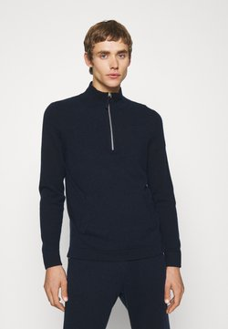 FTC Cashmere - HIGHNECK SEACELL - Neule - midnight