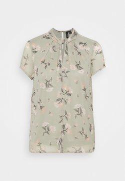 Vero Moda - VMZALLIE  - T-Shirt print - desert sage