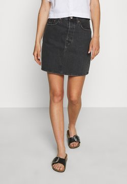 Levi's® - DECON ICONIC SKIRT - Minirock - black denim