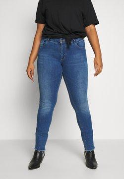 Zizzi - SANNA - Slim fit jeans - blue denim