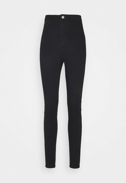 Missguided Tall - OUTLAW JEGGING - Jegging - black