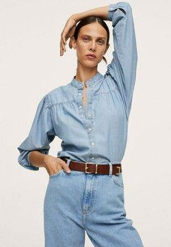 Mango - Camisa - azul claro