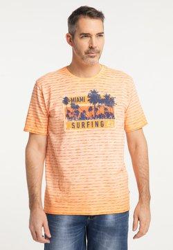 Pioneer Authentic Jeans - T-Shirt print - orangerust
