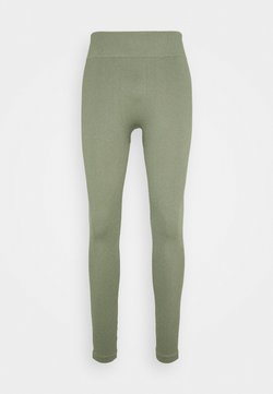 South Beach - SEAMLESS HIGH WAIST LEGGING - Medias - light green